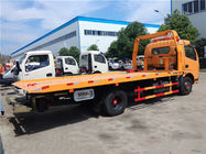 Right / Left Hand Drive 3 Ton Wrecker Tow Truck Euro 3 Manual Transmission Type