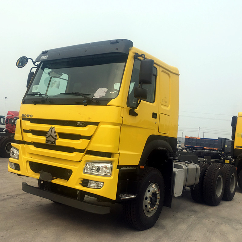 Customized Tractor Trailer Truck 6x4 Right Hand Drive 91km/H Max Speed